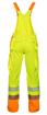 Obrázok z ARDON SIGNAL Pracovné nohavice s trakmi žlté skrátené