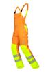 Obrázok z ARDON SIGNAL Pracovné nohavice s trakmi oranžové skrátené