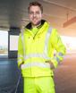 Obrázok z ARDON SIGNAL Reflexná softshellová bunda žltá