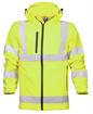 Obrázok z ARDON HI-VIZ Reflexná softshellová bunda žltá