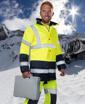Obrázok z ARDON HI-VIZ Reflexná zimná bunda žltá