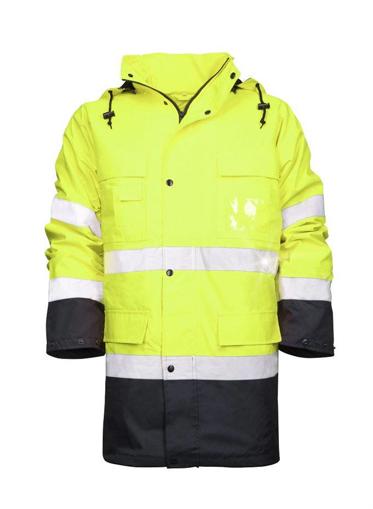 Obrázok z ARDON MAXWELL Reflexná zimná bunda žltá