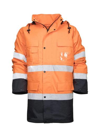 Obrázok z ARDON MAXWELL Reflexná zimná bunda oranžová