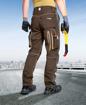 Obrázok z ARDON URBAN Pracovné nohavice do pása hnedé