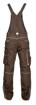 Obrázok z ARDON URBAN Pracovné nohavice s trakmi hnedé