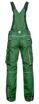 Obrázok z ARDON URBAN Pracovné nohavice s trakmi zelené skrátené
