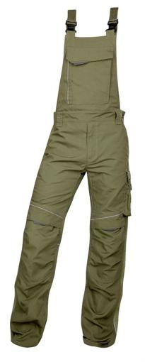 Obrázok z ARDON URBAN Pracovné nohavice s trakmi khaki skrátené