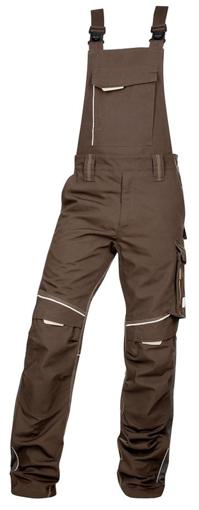 Obrázok z ARDON URBAN Pracovné nohavice s trakmi hnedé skrátené