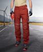 Obrázok z ARDON URBAN Pracovné nohavice do pása červené skrátené