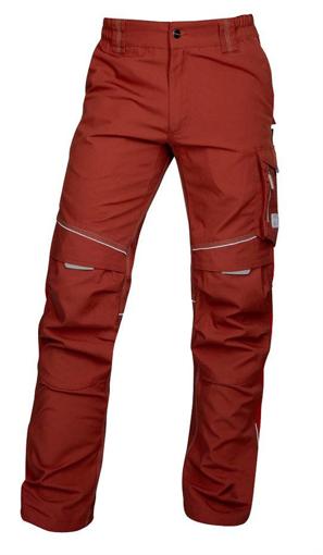 Obrázok z ARDON URBAN Pracovné nohavice do pása červené predĺžené