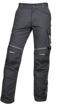 Obrázok z ARDON URBAN Pracovné nohavice do pása čierno-šedé skrátené