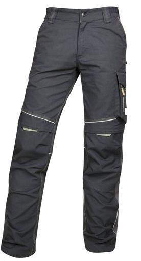 Obrázok z ARDON URBAN Pracovné nohavice do pása čierno-šedé predĺžené