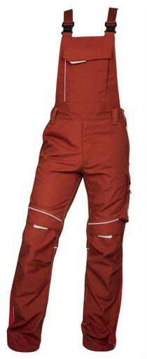 Obrázok z ARDON URBAN Pracovné nohavice s trakmi červené