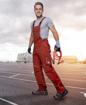 Obrázok z ARDON URBAN Pracovné nohavice s trakmi červené predĺžené