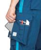 Obrázok z ARDON URBAN Pracovné nohavice s trakmi modré skrátené