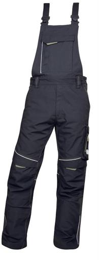 Obrázok z ARDON URBAN Pracovné nohavice s trakmi čierno-šedé predĺžené