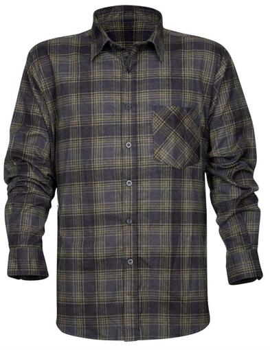 Obrázok z ARDON URBAN Flanelová košeľa čierna