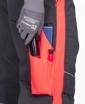 Obrázok z ARDON NEON Pracovné nohavice do pása šedo-červené skrátené