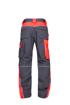 Obrázok z ARDON NEON Pracovné nohavice do pása šedo-červené predĺžené
