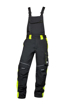 Obrázok z ARDON NEON Pracovné nohavice s trakmi čierno-žlté skrátené