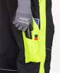 Obrázok z ARDON NEON Pracovné nohavice s trakmi čierno-žlté predĺžené