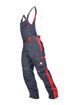 Obrázok z ARDON NEON Pracovné nohavice s trakmi šedo-červené predĺžené