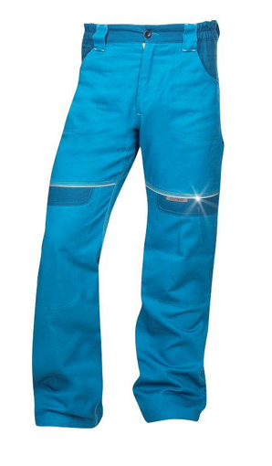 Obrázok z COOL TREND Pracovné nohavice do pása stredne modré skrátené