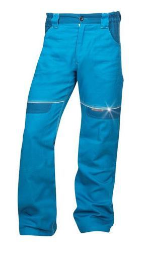 Obrázok z COOL TREND Pracovné nohavice do pása stredne modré predĺžené