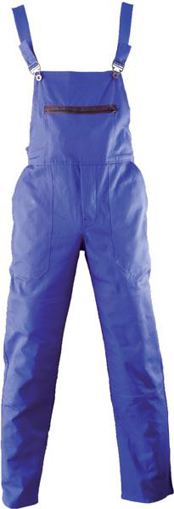 Obrázok z ARDON KLASIK Dámske pracovné nohavice s trakmi modré