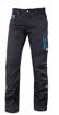 Obrázok z ARDON FLORET Dámske pracovné nohavice do pása čierno / modré