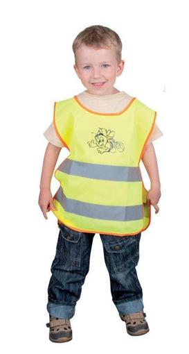 Obrázok z ARDON ALEX JUNIOR Detská reflexná vesta žltá