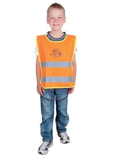 Obrázok z ARDON ALEX JUNIOR Detská reflexná vesta oranžová