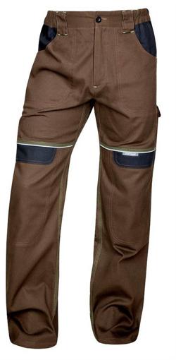 Obrázok z COOL TREND Pracovné nohavice do pása hnedé predĺžené
