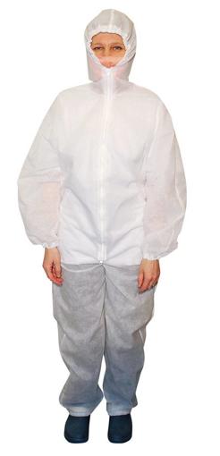 Obrázok z M+P HEDGE MINTO Ochranná kombinéza s kapucňou