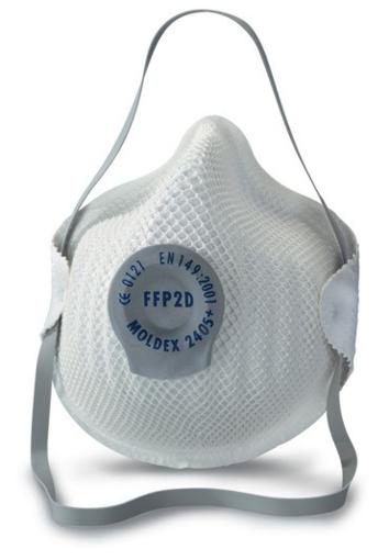 Obrázok z Moldex 2405 FFP2 Respirátor tvarovaný s ventilom
