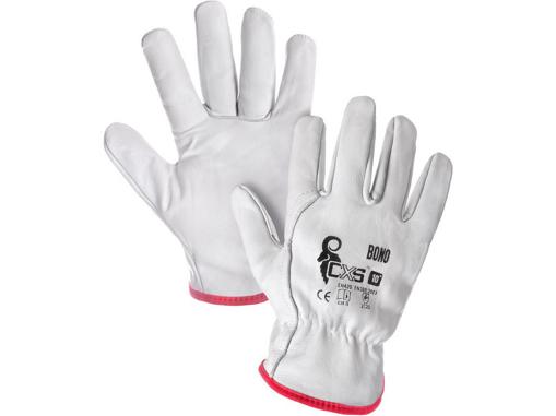 Obrázok z CXS BONO Pracovné celokožené rukavice - 120 párov