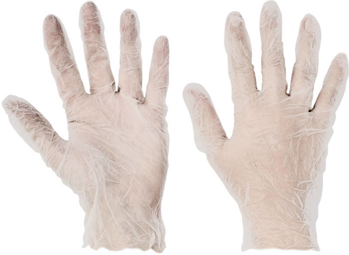 Obrázok z Červa BOORNE Pracovné jednorazové rukavice
