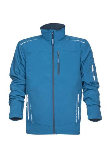 Obrázok z VISION Softshellová funkčná bunda modrá