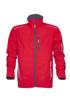 Obrázok z VISION Softshellová funkčná bunda červená