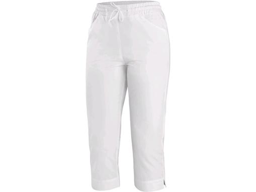 Obrázok z CXS AMY Dámske nohavice biele 3/4 dĺžka