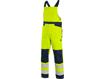 Obrázok z CXS HALIFAX Výstražné nohavice s trakmi žlto-modré