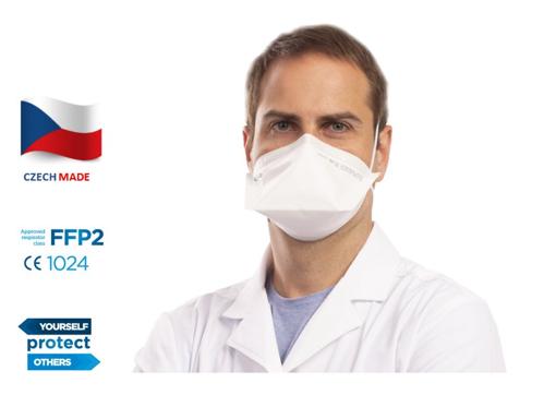 Obrázok z BTL FLAT-FIT HEALTHCARE FFP2 skladaný respirátor bez výdychového ventilčeka