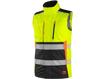 Obrázok z CXS BENSON Výstražná zateplená vesta žlto-čierna