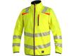 Obrázok z CXS HOVE Výstražná bunda žltá