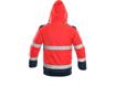 Obrázok z CXS LUTON Výstražná bunda 2v1 červeno-modrá
