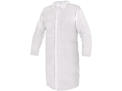 Obrázok z CXS RICK Jednorázový plášť biely