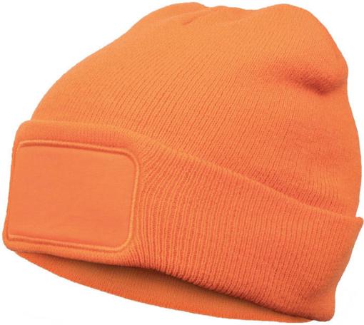 Obrázok z Cerva MEEST pletená čiapka oranžová
