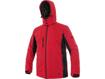 Obrázok z CXS VEGAS Pánska softshellová bunda červeno / čierna - zimná
