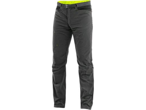 Obrázok z CXS OREGON Pánske nohavice do pása, letné, šedo-žlté