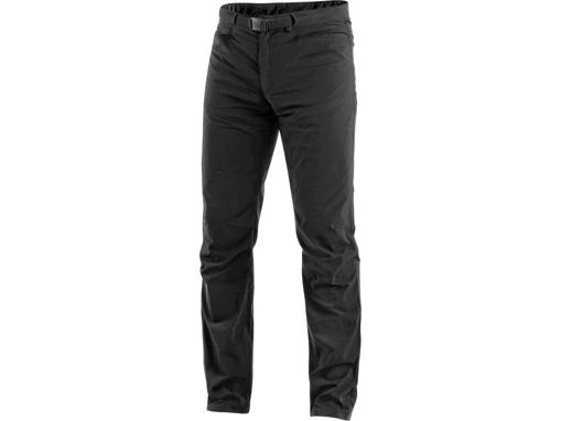 Obrázok z CXS OREGON Pánske nohavice do pása, letné, čierne